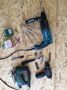 Werkzeug zum Bau