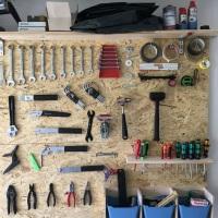 DIY: Werkzeugwand aus OSB Holzplatten